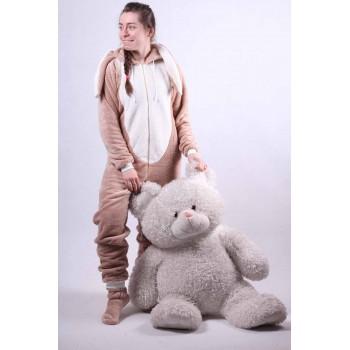 "Женский махровый кигуруми  "" Bags Bunny "" р. 42-50"