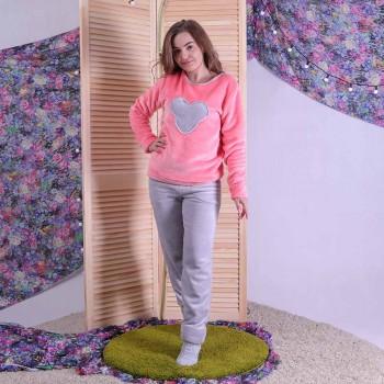 "Подростковая махровая пижама ""Микки"" р.36-42"