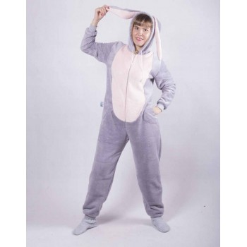 "Махровый женский кигуруми ""Bags Bunny"" р. 42-50"