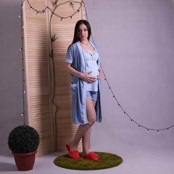 "Комплект пижама с халатом ""Дана"" р.42-54"