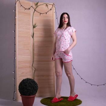 """Женская летная пижама """"Фламинго"""" р.42-54"""