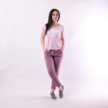 "Комплект футболка+ штаны ""Перья"" 42-54р."