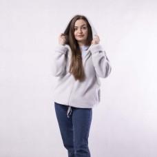 """Меховая женская кофта-куртка на молнии """"Норка"""" 44-52р."""