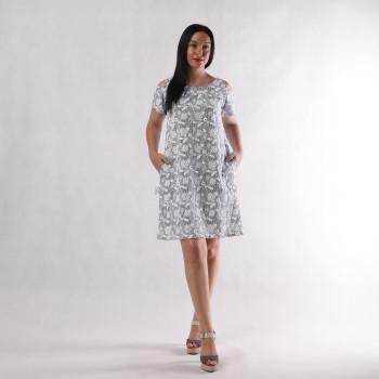 """Жіноче літнє плаття """"Наташа-Пінка"""" р.44-56"""