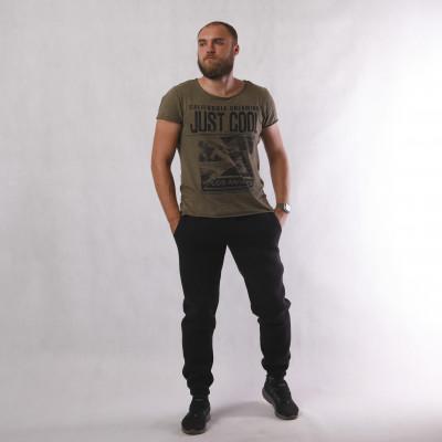 Теплые мужские спортивные штаны  начес 3-х нитка 48-56р.
