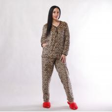 """Женская махровая пижама """"Лео"""" р.44-56"""