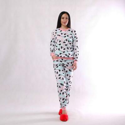 """Женская теплая пижама """"Панда """" р. 42-54"""
