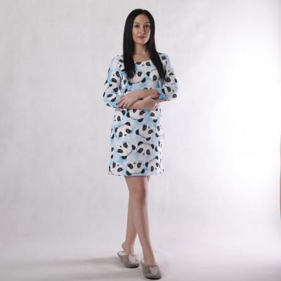 """Женское теплое домашние  платье начес  """"Уют"""" 44-52р."""