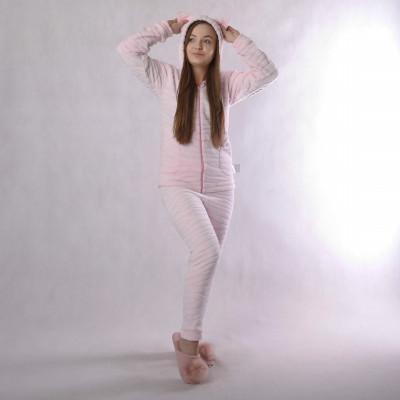 """Подростковый домашний костюм """"Шиншилла-розовый"""" р.36-42"""