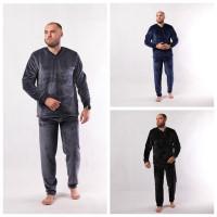 Мужская махровая пижама  р.44-60