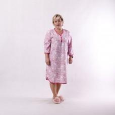 """Женская теплая ночная рубашка """"Бантик new"""" р.52-64"""