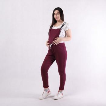 """Молодежный женский комбинезон для беременных со штанами   """"Love-комбинезон """" р. 42-50"""