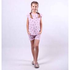 "Летняя подростковая пижама ""Смайл"" р.36-40"