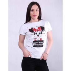 Молодежная женская стильная  футболка  р. 42-50