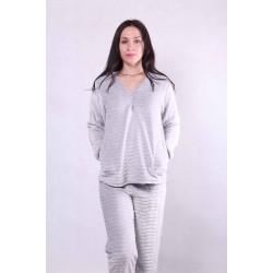 """Женская махровая пижама """"Soft"""" р.44-56"""